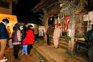 鹿島神社の初詣