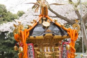 青木神社の宮神輿