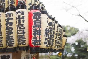青木神社の万灯神輿2