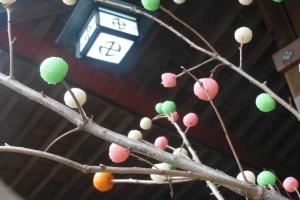青木神社のどんど焼き