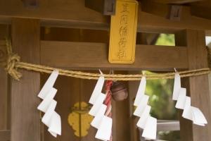 青木神社境内の笠間稲荷社2