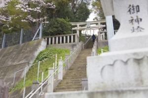 青木神社の鳥居