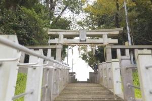 青木神社の階段