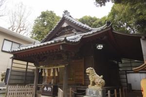 青木神社の本殿