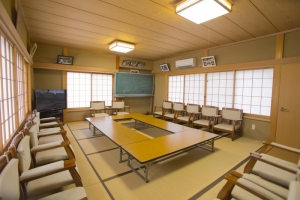 青木神社の社務所