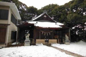 青木神社の冬