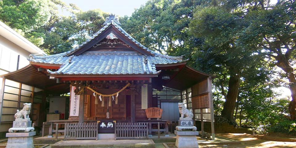 青木神社本殿