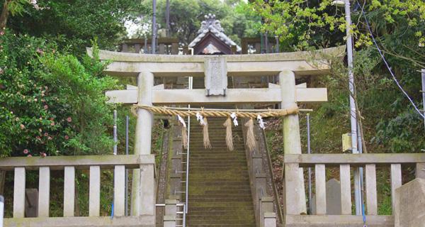青木神社への行き方